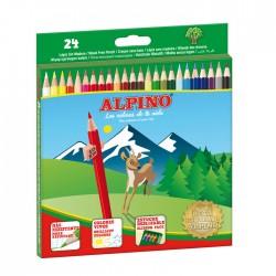 LAPIZ ALPINO 24 COLORES 658 WF LARGO