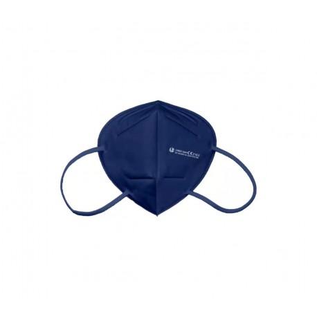 Langci Mascarilla FFP2 - Clip Nasal Ajustable - Certificacion CE/2163 - EN 149:2001+A1:2009 FFP2 NR - Color Azul